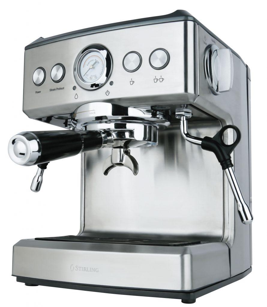 stirling 19 bar premium espresso machine